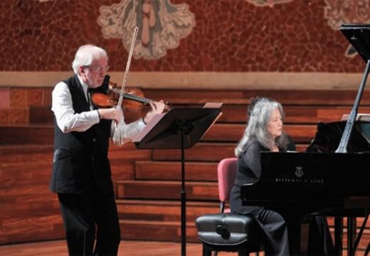 Martha Argerich, Gidon Kremer