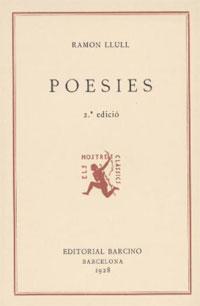 Poesies, Ramon Llull
