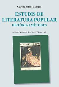 Estudis de literatura popular. Història i mètodes.