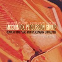 Concerti for piano with percussion orchestra