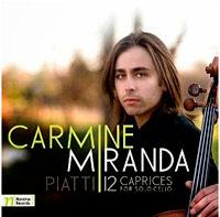 12 Caprices for solo cello