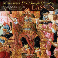 Missa super Dixit Joseph & Motets