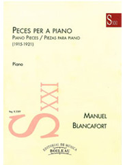 Peces per a piano (1915-1921)