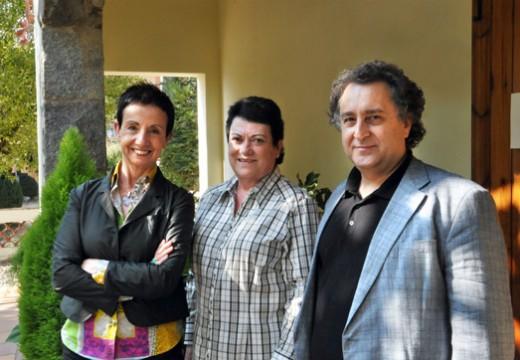 Música i Gastronomia: Carme Ruscalleda, Josep Pons i Mª Rosa Cullell