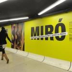 Joan Miró. Apunts. Intervenció al metro © Espai Mercè Sala