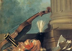Las naturalezas muertas musicales en la Francia del siglo XVIII
