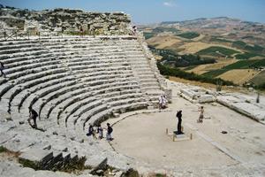 Teatre grec de Segesta © Isabel Graupera Gargallo