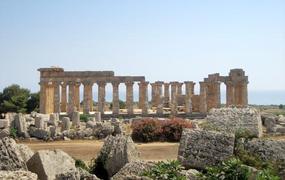 Temple de Selinunte © Isabel Graupera Gargallo