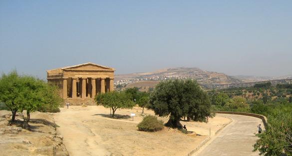 Temple de la Concòrdia Vall d'Agrigento. © Isabel Graupera Gargallo
