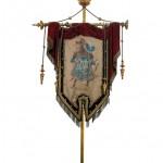 Estendard del Niu Guerrer, finals del segle XIX
