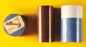 Cilindre d'Albéniz amb la Improvisación núm. 1, catalogat com a CIL-167. Fotografia: Ricard Marco. Biblioteca de Catalunya