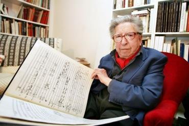 Le compositeur Henri Dutilleux ©Jean Pierre Martin
