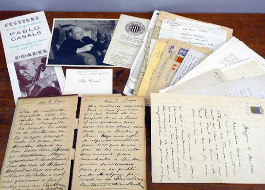 Mostra de la col·lecció factícia de Pau Casals