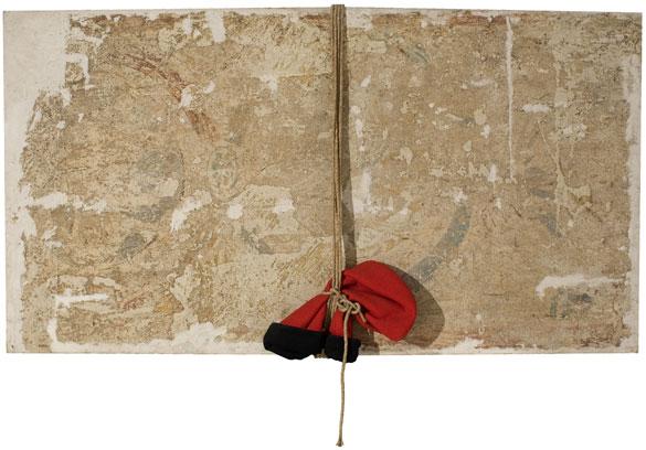 Antoni Tàpies. Pintura romànica i barretina. Col·lecció particular, Barcelona