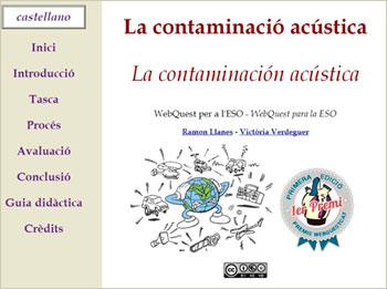 WebQuest sobre la contaminació acústica: per uns instituts (i un món) més silenciosos