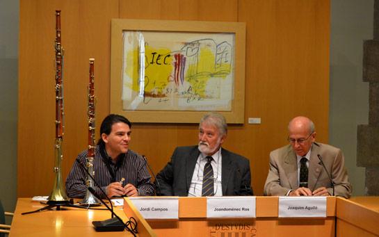 Jordi Campos, Joandomènech Ros, Joaquim Argulló
