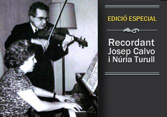 Josep Calvo i Núria Turull, els meus avis