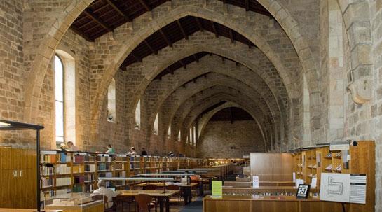 Sala de ponent ©Biblioteca de Catalunya