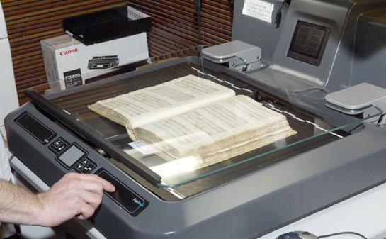 Unitat de digitalització ©Biblioteca de Catalunya