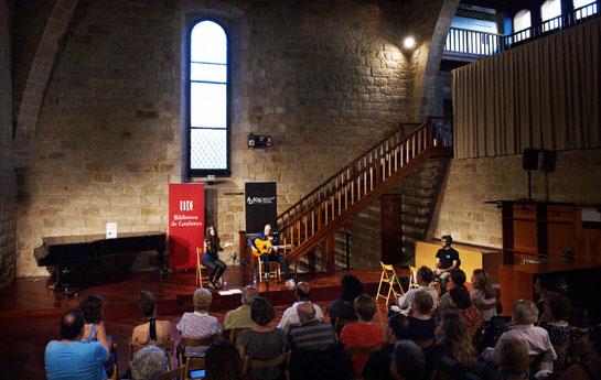 Concert a la Sala de Llevant ©Biblioteca de Catalunya