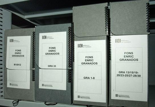 Capses de preservació ©Biblioteca de Catalunya
