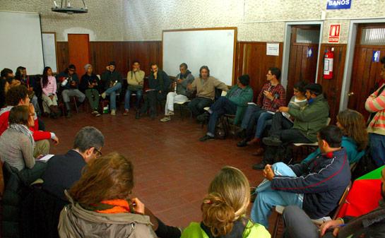 Participacio?n en la constitucio?n de Cultura Viva Comunitaria Uruguay