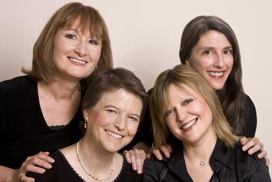 Susan Hellauer, Ruth Cunningham,   Jacqueline Horner-Kwiatek, Marsha Genensky ©Anonymous 4