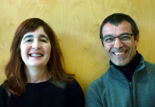 Conversa entre Mª Carme Pardo i Andrés Corchero