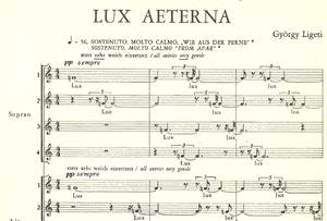 Lux aeterna de György Ligeti