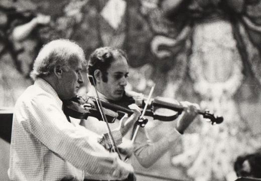 Gonçal Comellas: L'Art a través del violí, una vida a través de la música.