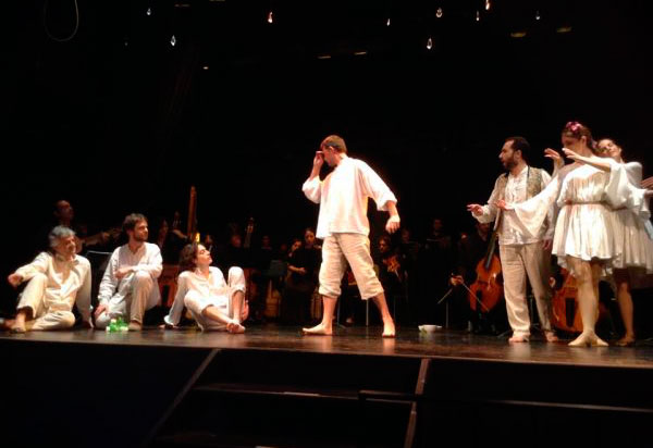 Figure 4: Representation of L'Orfeo at Teatre de Sarrià.