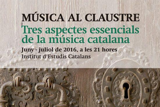 Música al claustre de l'IEC