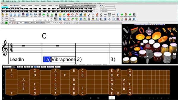 Imagen 1 Captura de pantalla de Band in a Box en Mac
